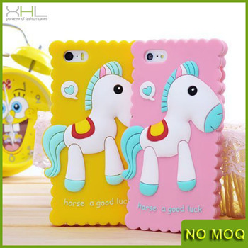 New Cute Silicone case for iphone 5S