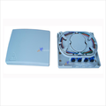 4 port plastic fiber optic ftth mini terminal box