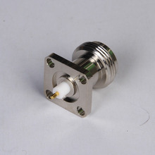 price list for electronic components female flange N connector