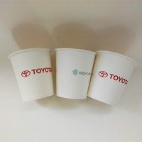 6oz paper cup for toyota ad