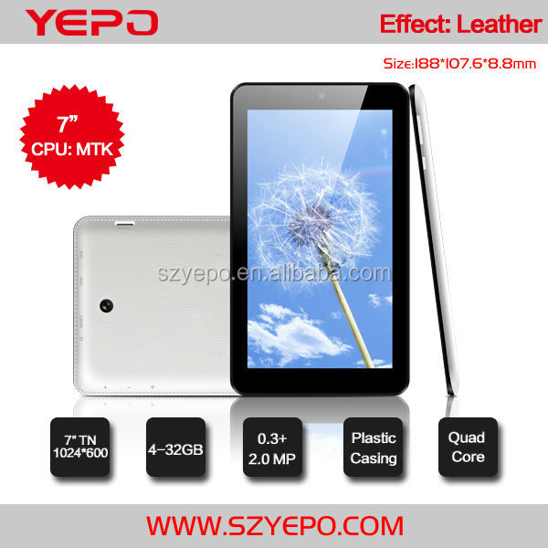 China Tablet PC Factory 7inch HD MTK 8127 GPS/FM/BT/WIF/HDMI Android Tablet PC with Front and Back Camera