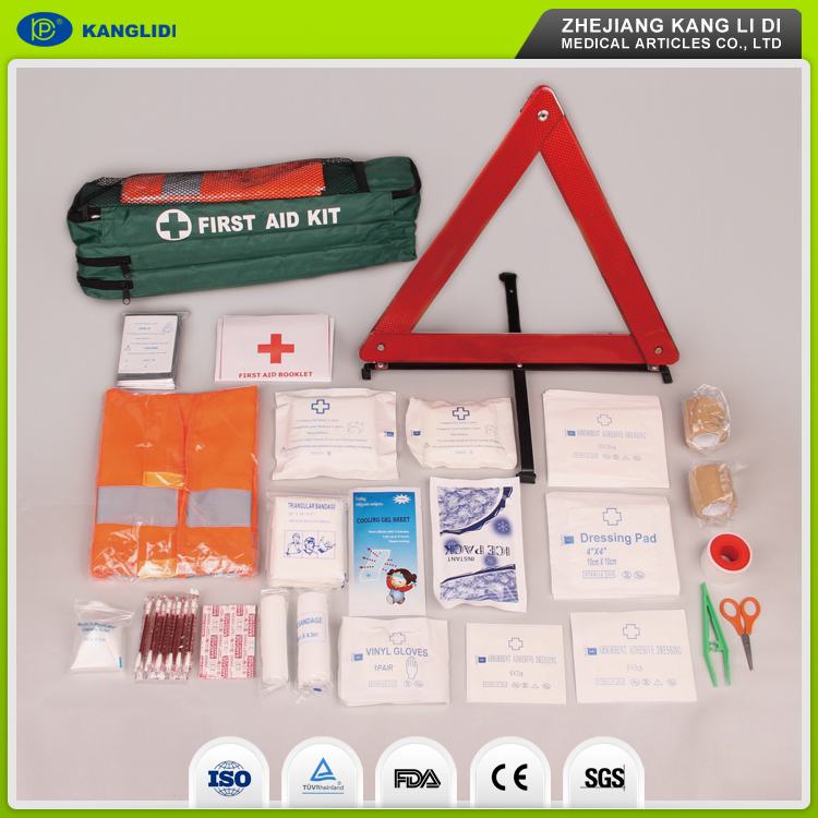 KLIDI OEM Supply Mini Packing Automobile Car And Ambulance Used First Aid Kit