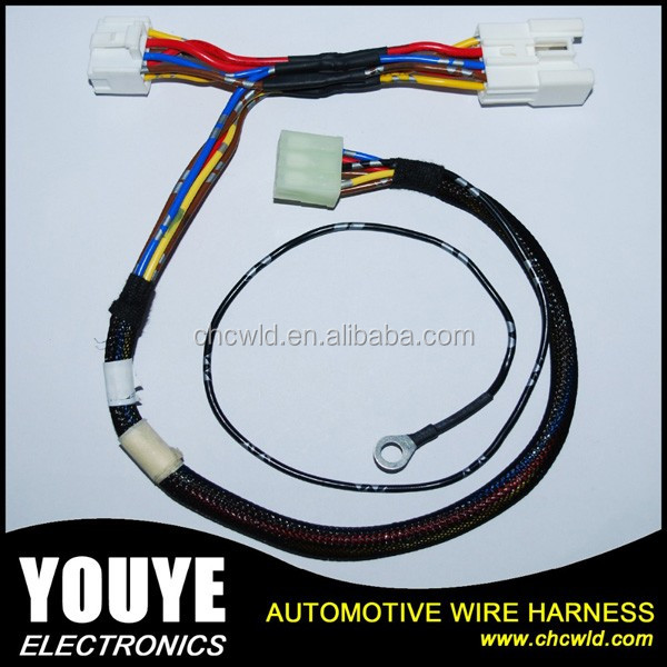 high quality auto offroad led light bar wiring harness