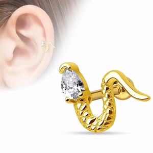 Animal Novelty Steel Cartilage Earring Tragus Helix Piercing