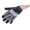 Palm Microfiber With Foam Padding Back Spandex, Reflective Band Gloves Dotted Safety Working Gloves