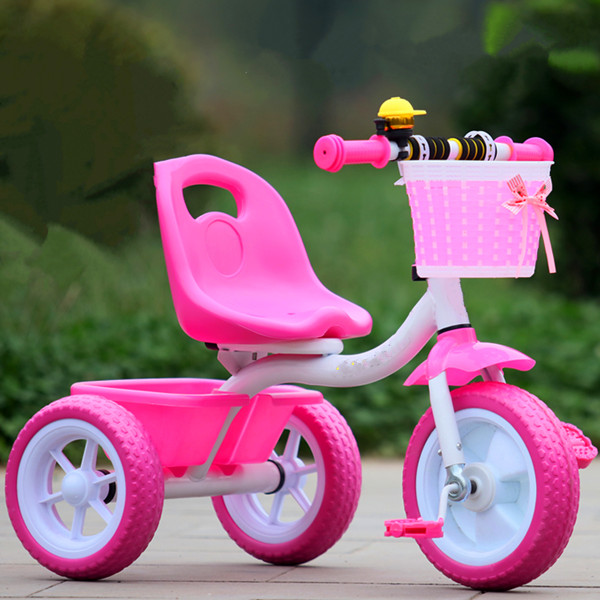 Plastic pedal children tricycle, Kids 3 wheeler pedal car, Kids Trike