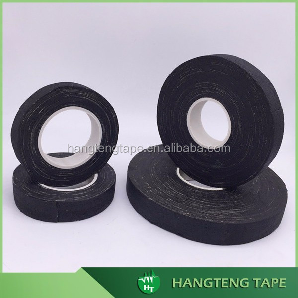 Black Cotton Insulation Tape for Automotive Wire Harness