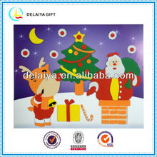 Fine quality DIY Christmas EVA foam toys for kids in 2013