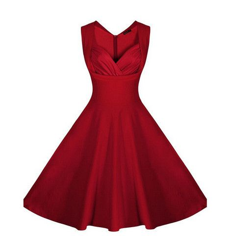 Red Colour Women Apparel Christmas Dress For Party