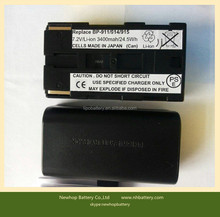 li-ion battery ncr18650b 3400mah 7.4v for Canon Camcorder BP-911,BP-911K,BP-914,BP-915,BP-915CL,BP-970G camera battery