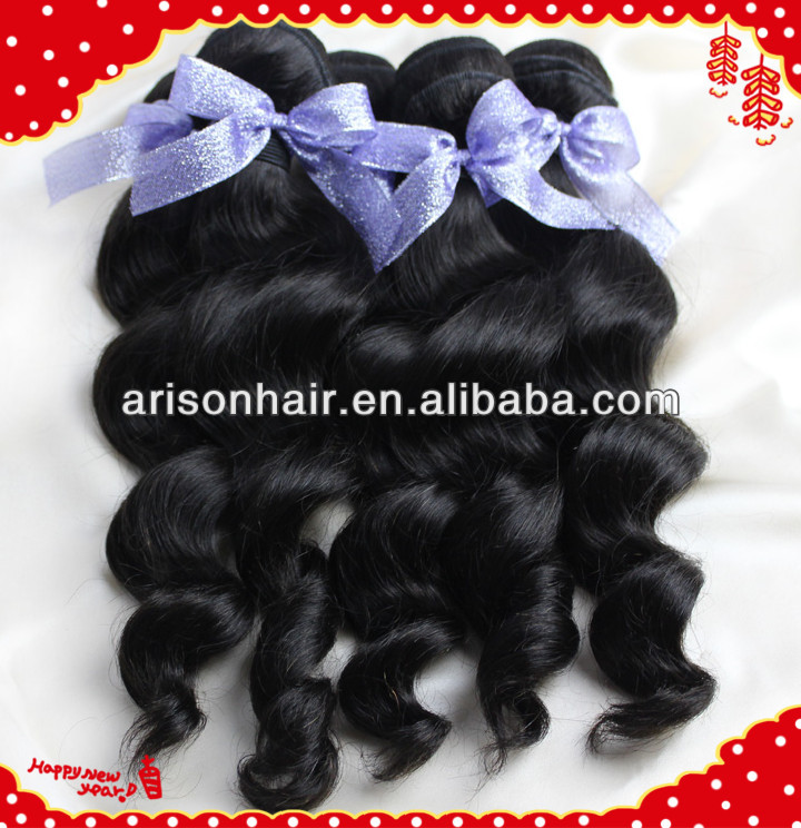 Human hair 100% loose wave 8-30inches beauty queen hair extensions