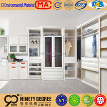 Latest in laminated melamine decorator colours modern freestyle bedroom wardrobe designs