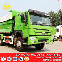 sinotruk howo used 30 ton left hand drive tipper truck