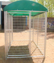 Hot dipped galvanized welded wire mesh Dog Kennels dog cages