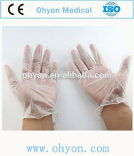 Medical disposable gloves for couples powder free/powdered