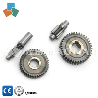 Transmission machining part customized brass spur worm gear / heavy casting gear / aluminium gears 6133 6136