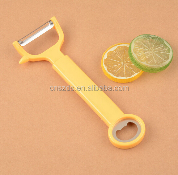 multipurpose <strong>apple</strong> peel fruit peeler bottle opener Stainless steel and grater