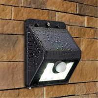 high quality solar motion sensor led outdoor light for decoration project