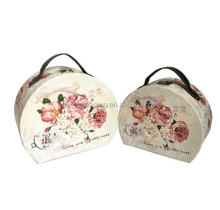 Wholesale boxes no moq gift boxes with handles, gift packaging boxes made in china