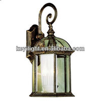 IP54 Aluminium Die Casting outdoor garden antique luminaire light(K32083A)