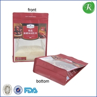 freezer plastic bags packaging for seafood meat