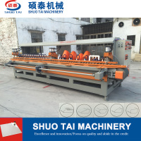 ST-1200 14 stone polishing heads /automatic marble arc-edge polishing machine/tile polishing machine