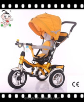 Hot selling children smart tricycle cheap kids ride on cars/kids ride on toy with rotaty seat