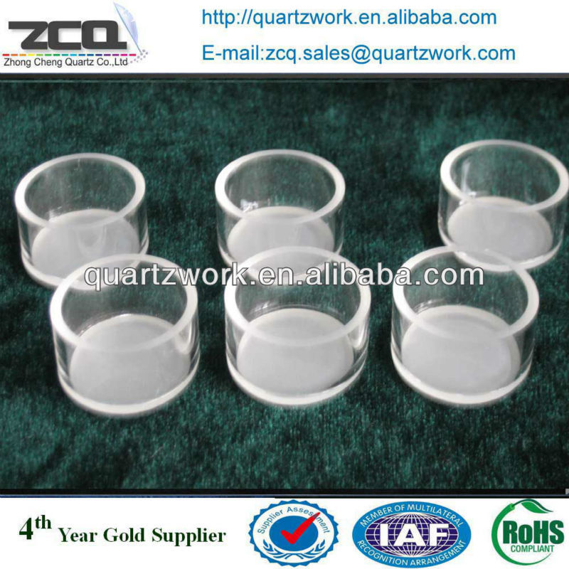 Large Diameter Quartz Pyrex Glass Tube
