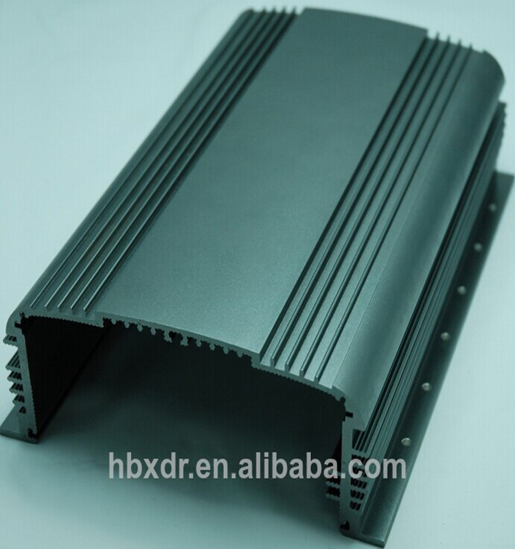 Anodized CNC customer electrical aluminum enclosure