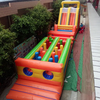 Sport games inflatable obstacle course for sale