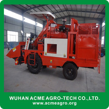 2 ROWS China good perfromance corn combine harvester (skype/wechat: sherlley88, whatsapp: 008618971112939)