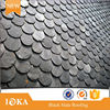 Dark black slate roof/china roofing slate/natural slate stone