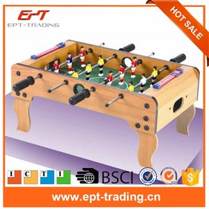Middle size football table game kids football games for sale