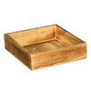 High quality distressed wooden tray, wood organizer trays