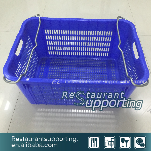 Cheap price Hot Sale Plastic Basket With Handle On Sale