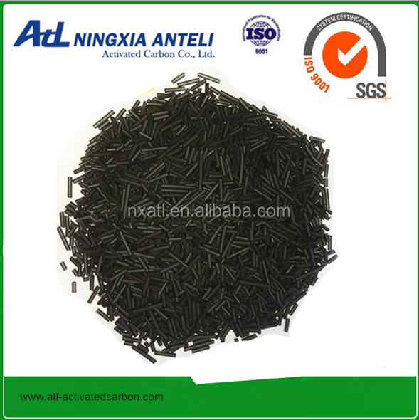 1.5mm 3mm 4mm Anthracite coal based activated carbon pellet