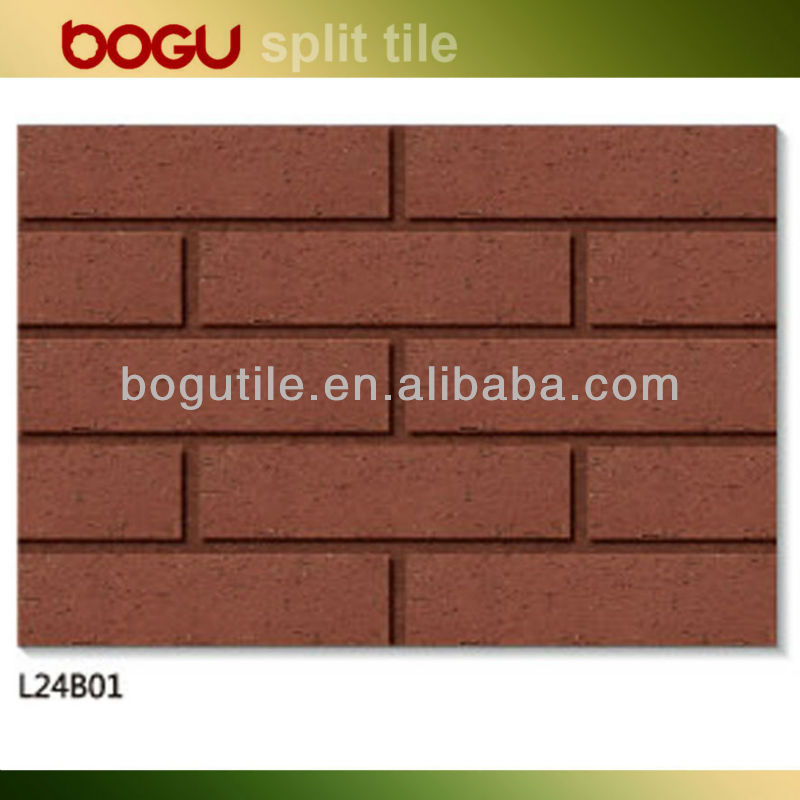 60x240mm panel de terracota clinker ladrillo de arcilla roja dimensiones alicatados - Dimensiones ladrillo visto ...