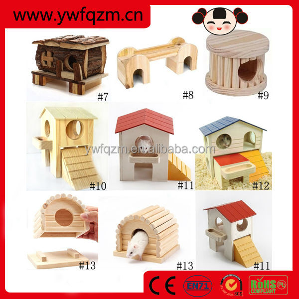 Wholesale small animal cages,small animal house,wood hamster house