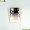 Slant mirror with LED light