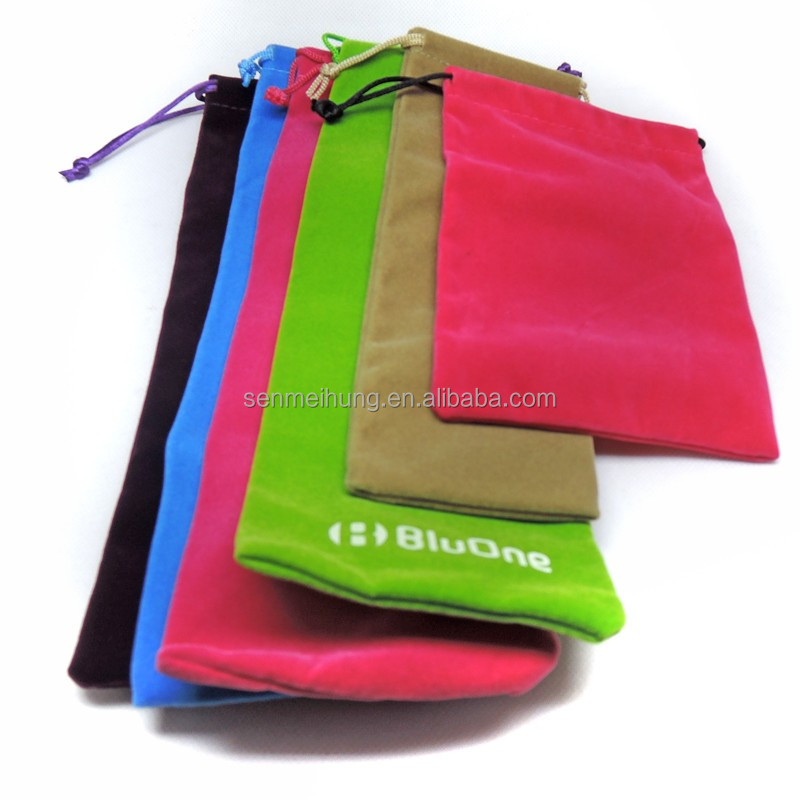 OEM popular hot stamping pouch for jewelry small gift bags