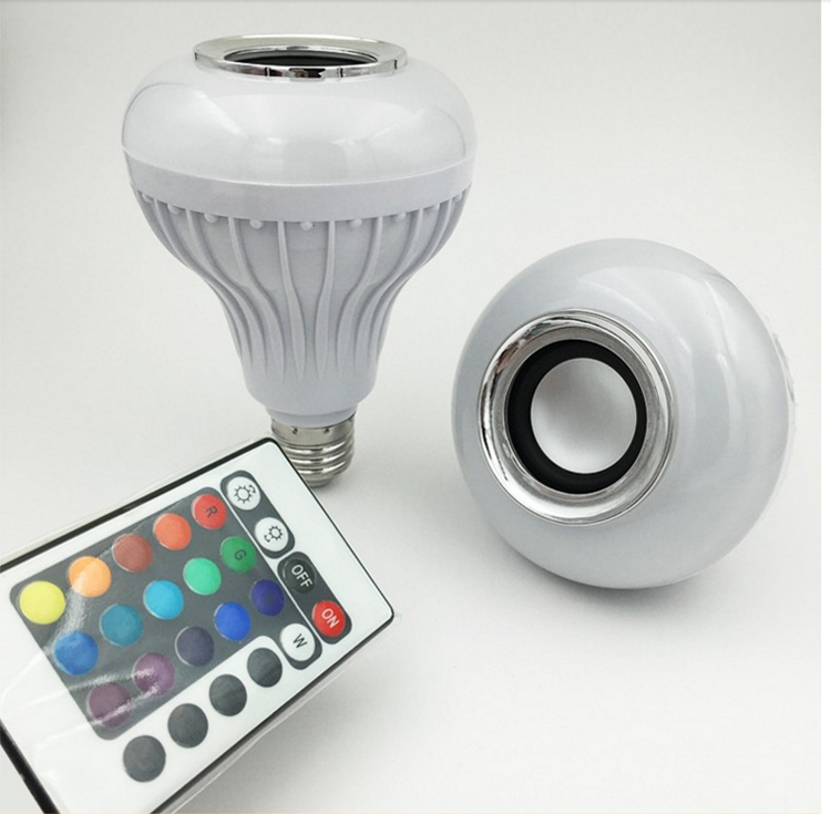 Bluetooth Music Bulb E27 Led Bulb Music Playing RGB light with Remote control