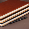 PU Leather Cover Blank Notebook Journal