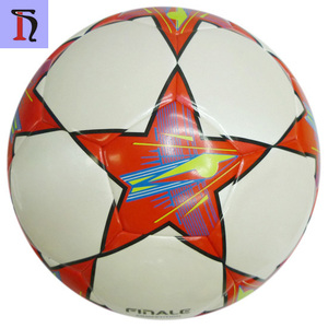 0cbf37918 Balones de Futbol Wholesale Cheap Price Official Size and Weight Leather Soccer  Ball Wholesale Size 5