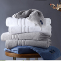 luxury hotel bathroom eco-friendly Egyptian cotton towel set