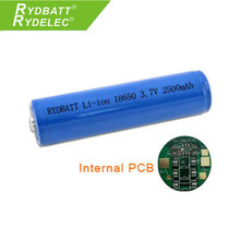 rechargeable cell 3.7v 2300mah li ion cell 18650 liion battery with PCB for power tools