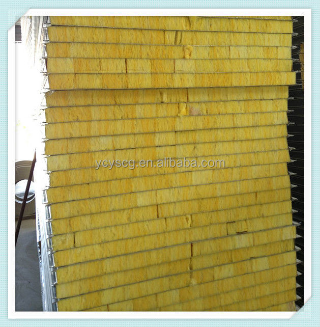 Glasswool sandwich panel,exterior decorative metal wall panel