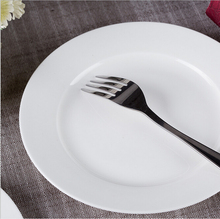 4.5-16 inch hotel home use round ceramic white buffet <strong>plates</strong>