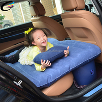 Car Travel Inflatable Car Air Bed Back Seat Mattress