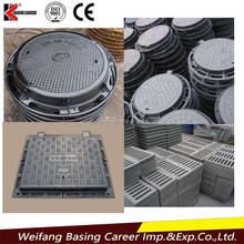 En 124 Manhole Cover From Factory Customized, Ductile Iron Manhole Cover