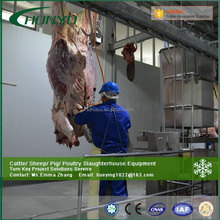 ISO approved Halal cattle slaughter line/Slaughterhouse machine/abattoir equipment